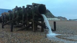 Hastings storm drain