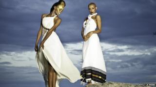 Models wearing Yefikir clothing