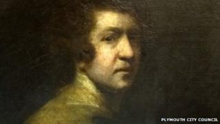 Self portrait of Sir Joshua Reynolds