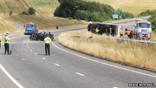 A27 crash