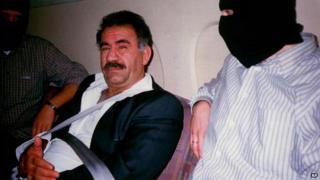PKK leader Abdullah Ocalan - 1999 pic after his capture