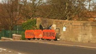 Harefield Road crash scene