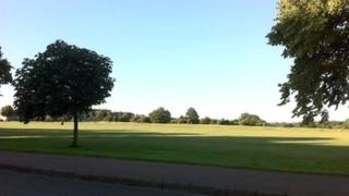 View of the Downs in Bristol