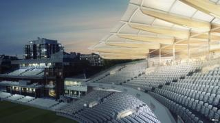 Designs for the new Warner Stand