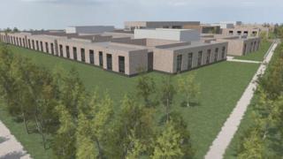 Artist impression of the new Royal Edinburgh Hospital