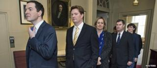 George Osborne and Treasury team prepare to leave 11 Downing Street