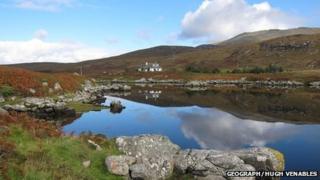 Loch Aineort an Uibhist a Deas