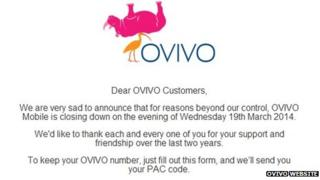 Ovivo website