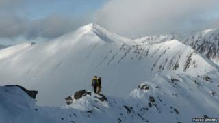 Ben Nevis climbing expedition