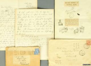 Beatrix Potter letters