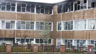 Millais School fire
