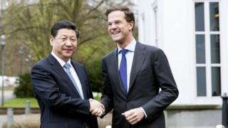 President Xi met Dutch PM Mark Rutte ahead of the Nuclear Security Summit