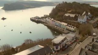 The men were from the Skye harbour town of Portree