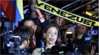 Venezuela opposition politician Maria Corina Machado