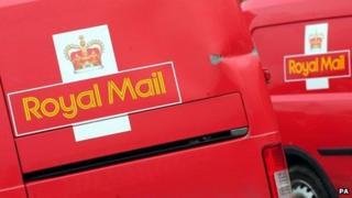 Royal Mail vans