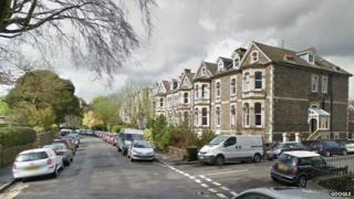 Houses in Redland Park, Bristol