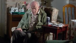 Timothy West in the role of Stan Carter in EastEnders