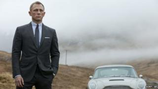 Scene from Skyfall