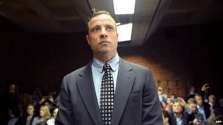 Pistorius in court