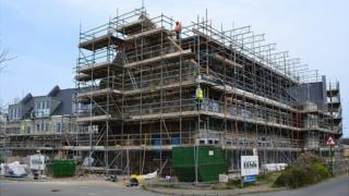 Extra care housing being built at La Nouvelle Maraitaine, Guernsey
