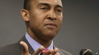 Patrick Cannon appeared in Charlotte, North Carolina, on 29 October 2013