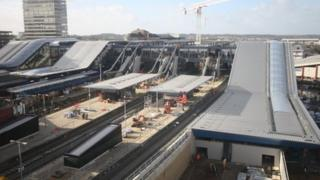 Reading station upgrade work