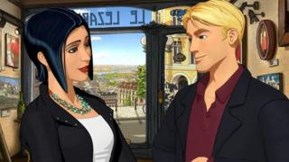 Screenshot from Broken Sword: Serpent's Curse