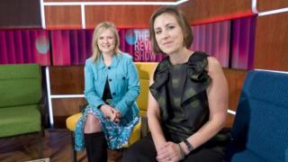 Martha Kearney and Kirsty Wark in The Review Show
