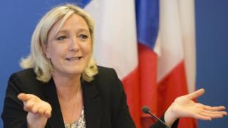 Marine Le Pen, FN leader