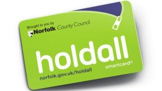 Holdall smart card