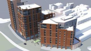 St Catherine's Place apartment proposal