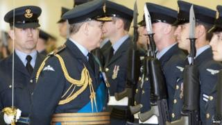 The Duke of York attended the ceremony