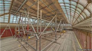 Nash's original roof