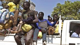 UN: Over one million displaced by South Sudan conflict