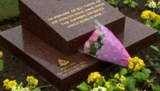 War memorial in Comber
