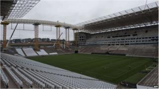 Arena Sao Paulo, Brazil