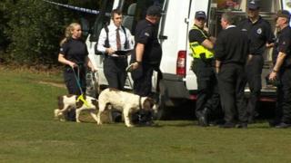 Dog team at Meyrick Park Golf Club