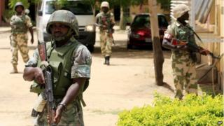 Nigeria suicide attack 'kills 21' near Maiduguri