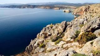 Site of Minoan's proposed leisure and tourism development in Crete