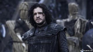 Kit Harrington as Jon Snow in Game of Thrones