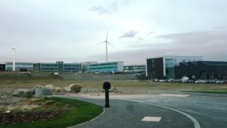 The AMRC site at Orgreave, near Rotherham