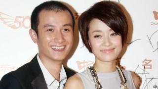 Wen Zhang with his wife Ma Yili