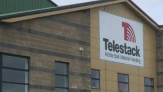 Telestack building