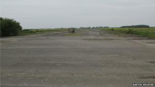 The site of the former RAF base