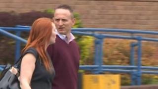 Pc Gary Tester leaves Swindon Magistrates' Court
