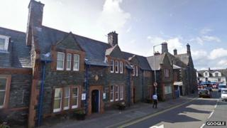 The old police station in Keswick