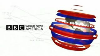 A still from the World News America opening sequence