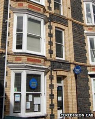 Ceredigion CAB's Aberystwyth office