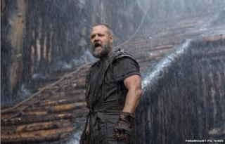 Still from the film Noah