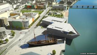 Dundee's waterfront voted 'best place' in Scotland